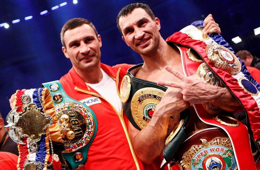 Vitaly ja Vladimir Klitschko
