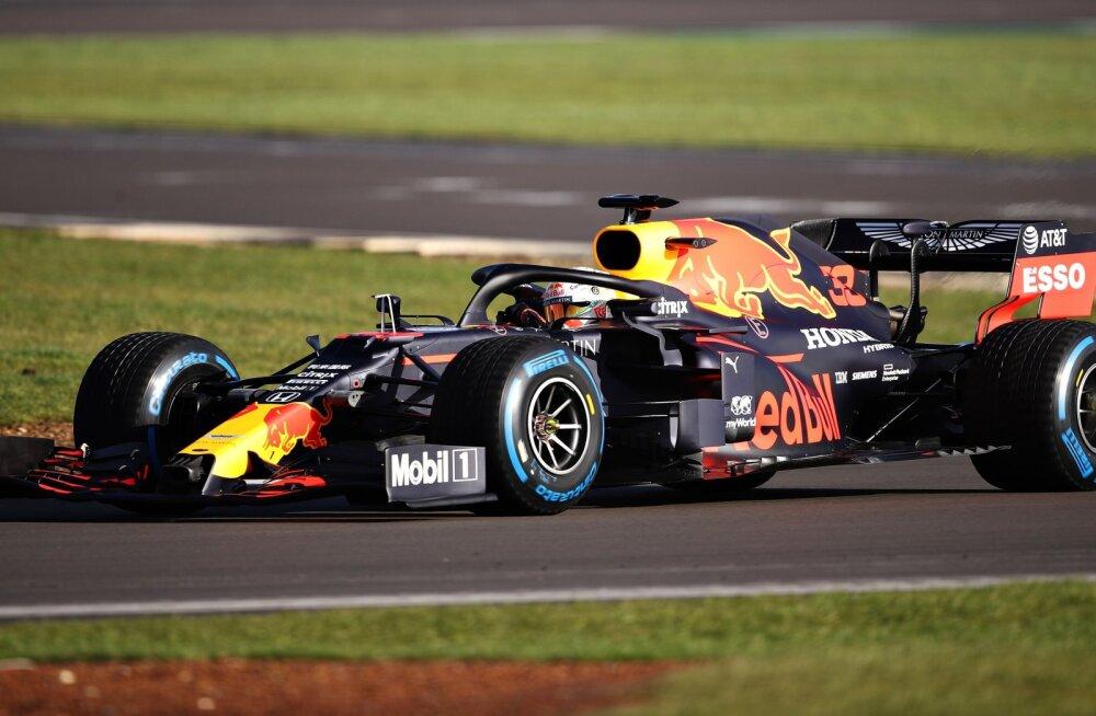 Red Bull esitles 2020. aasta mudelit