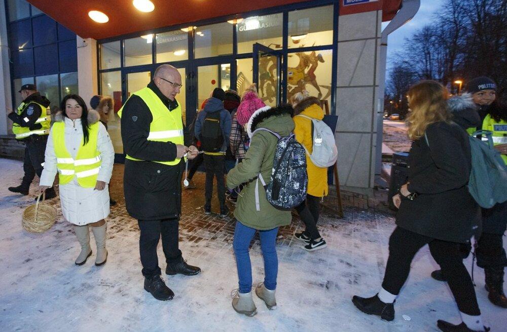 В пыхья-таллиннские школы нагрянула проверка: ситуация с безопасностью аховая!