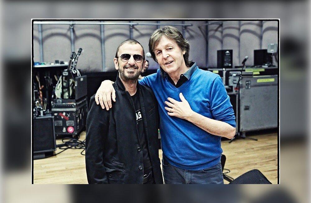 Hõissa, Ringo Starr! Nüüd on mõlemad elusolevad biitlid pärjatud rüütlitiitliga!