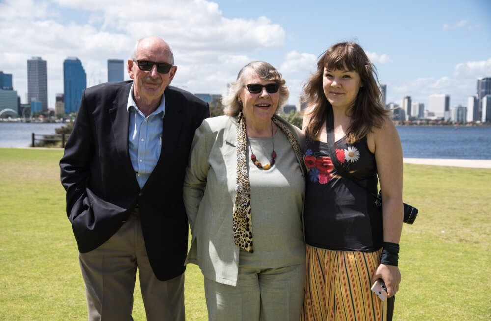 Laura Mallene EV100 peret Austraalia