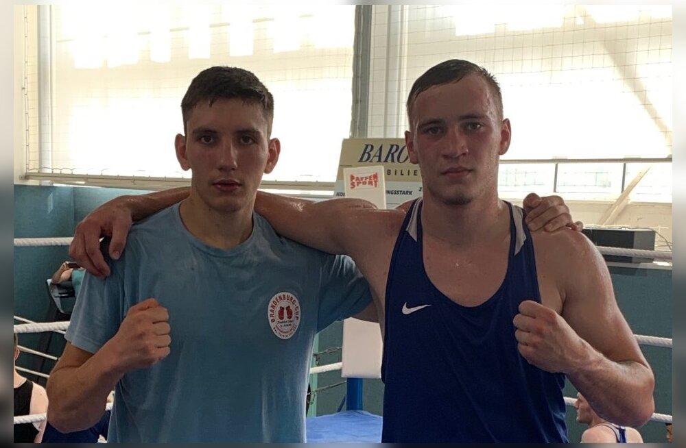 Kaks Eesti noort poksijat astuvad MM-il elu karmimasse võitlusse
