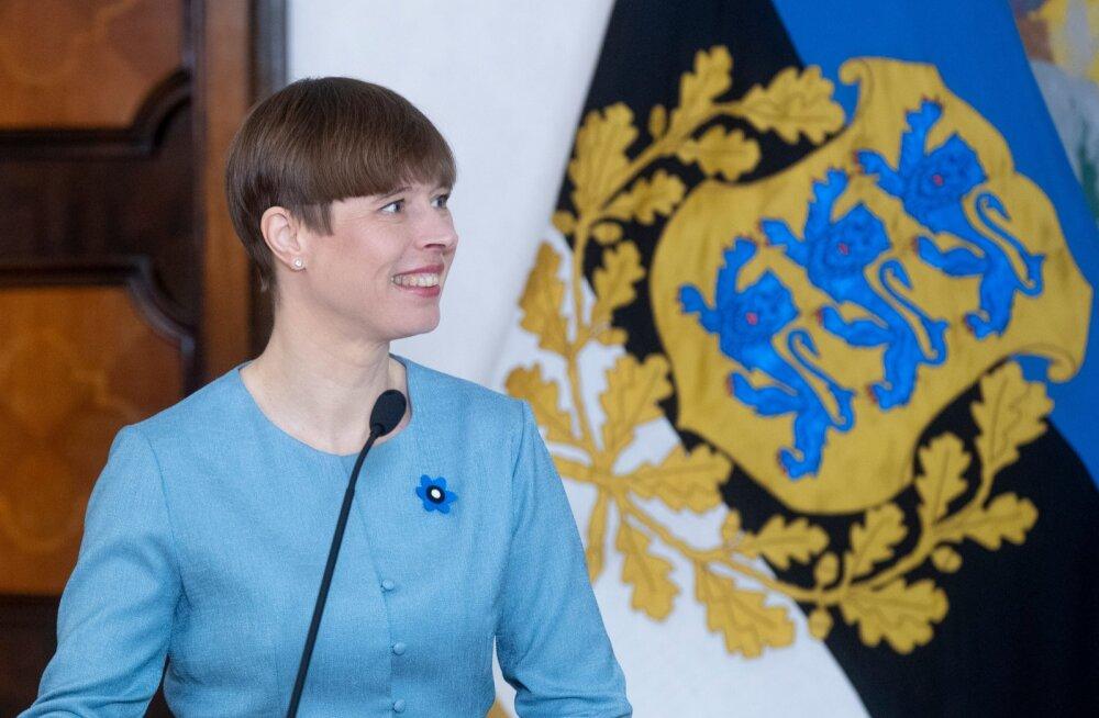President Kersti Kaljulaidi avaldus