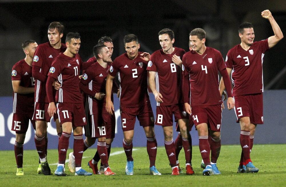 Wales pääses vägeva võiduga EM-i finaalturniirile, Läti üllatas Austriat!