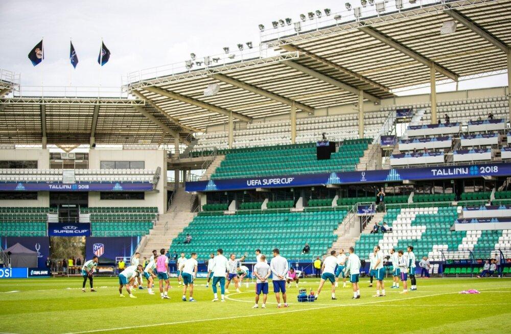 Madridi Atletico trenn Lilleküla staadionil