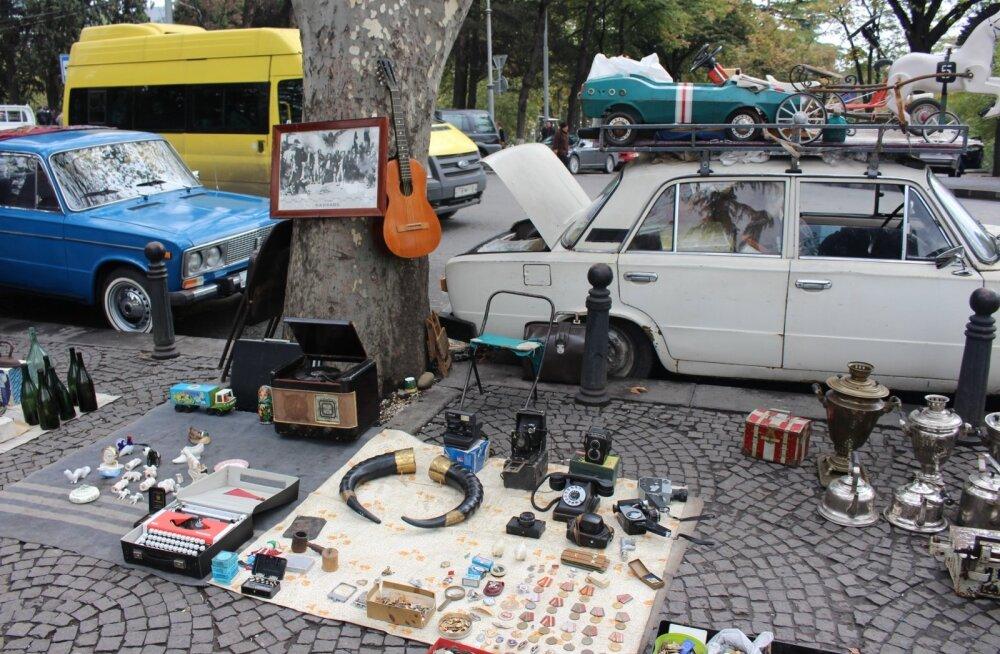 Gruusia, Tbilisi turg
