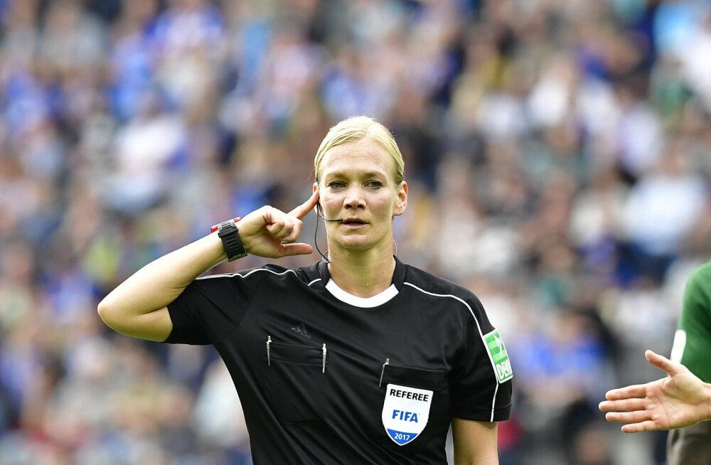VIDEO | Esimese naisena Bundesligas õigust mõistnud kohtunikul polnud sugugi lihtne päev