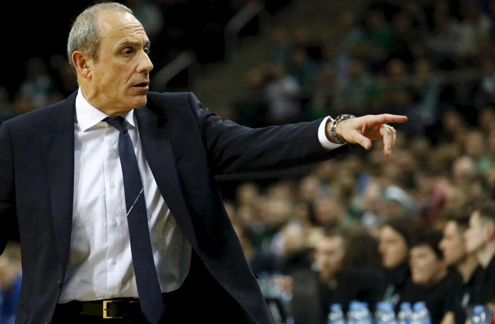 Itaalia tipptreener: Euroliiga hooaeg on tõenäoliselt läbi, elus on korvpallist tähtsamaidki asju