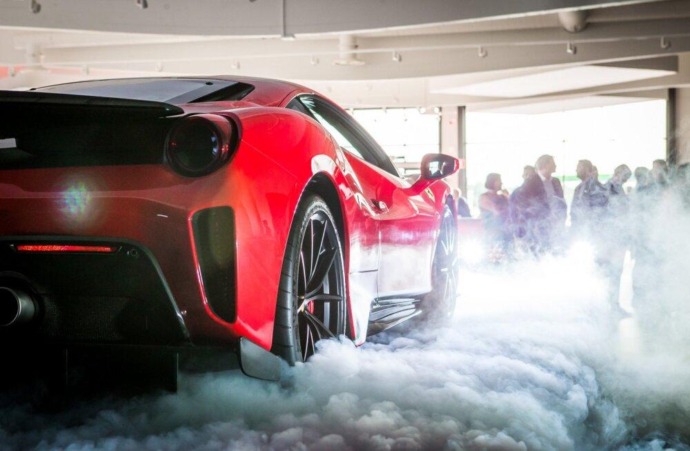Tallinnas avatakse Ferrari esindussalong