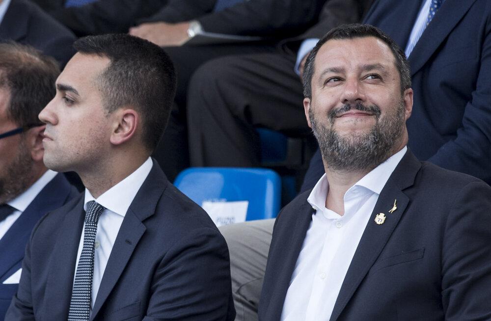 Itaalia valitsus kõigub, Salvini nõuab uusi valimisi