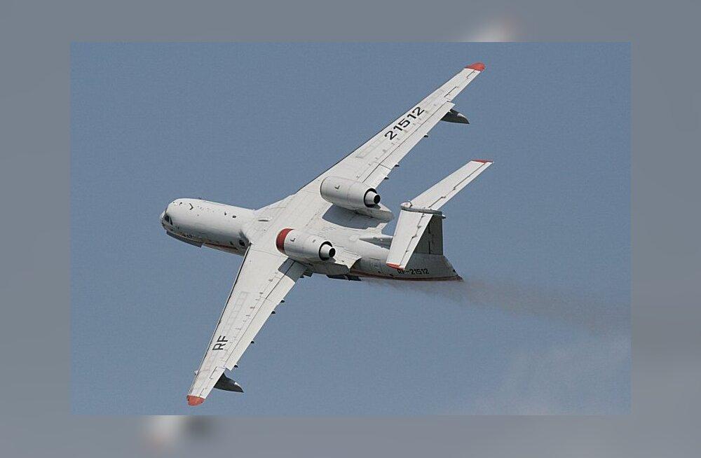 Murranguline lennukidisain Venemaalt - panna mootorid tiibade peale, mitte alla