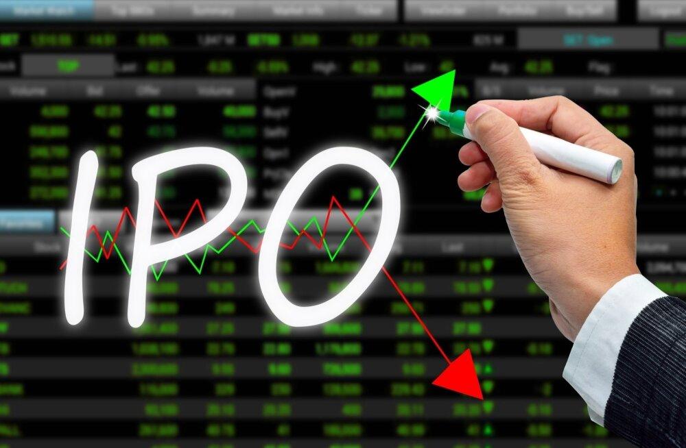 Esimene börsile viidud ükssarvik oli 2012. aasta mais Facebook. Kõrgema IPO-hinnaga ükssarvikud on olnud selges enamuses.