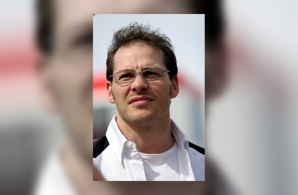 Jacques Villeneuve Hispaania GP-l