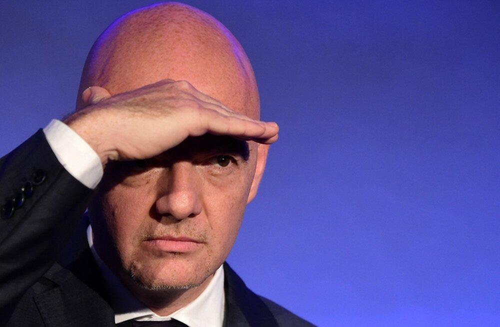 Gianni Infantino kiikab silmapiiri taha. Kas tema on see, kes päästab FIFA kriisist?