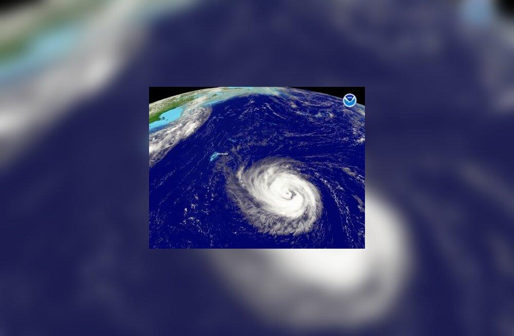 torm, orkaan, Atlandi ookean, Bertha, kariibi, bermuda