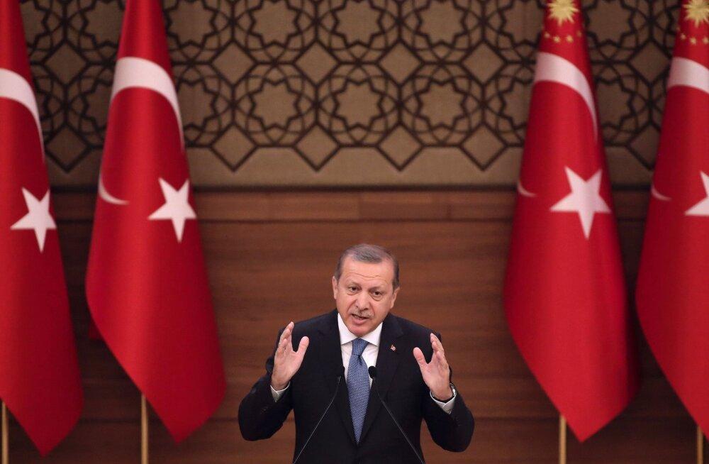 Türgi konsulaadi surveavaldus Erdoğani laimajate paljastamiseks ajas Hollandi valitsuse marru