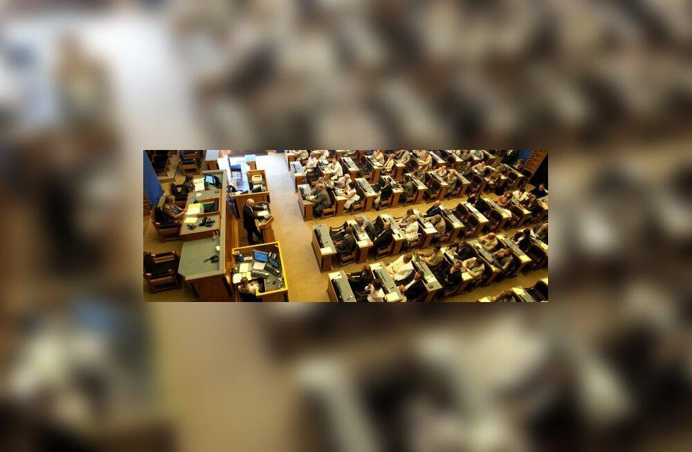 Riigikogu teeb maavanemate huvides seaduse ümber