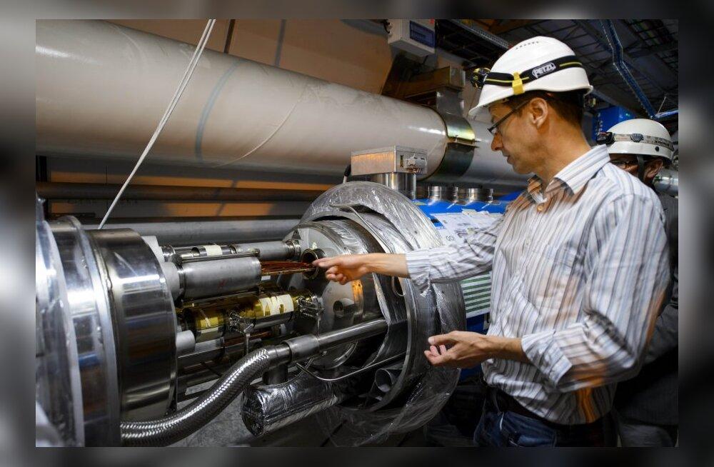Katsetused Higgsi bosoniga: inimese võimuses oleks universum katki teha
