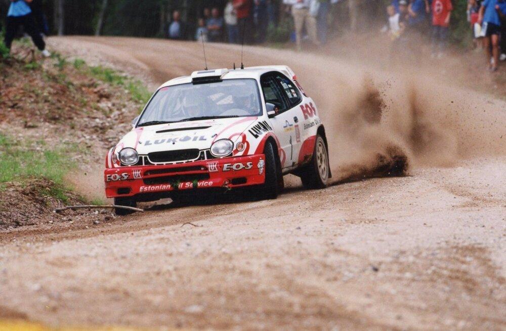 Markko Märtin ja Michael Park murdsid Toyota Corolla WRC autoga rallimaailma.
