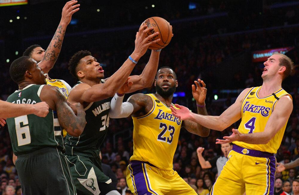 NBA kaalub kõikide play-off mängude Las Vegasesse viimist