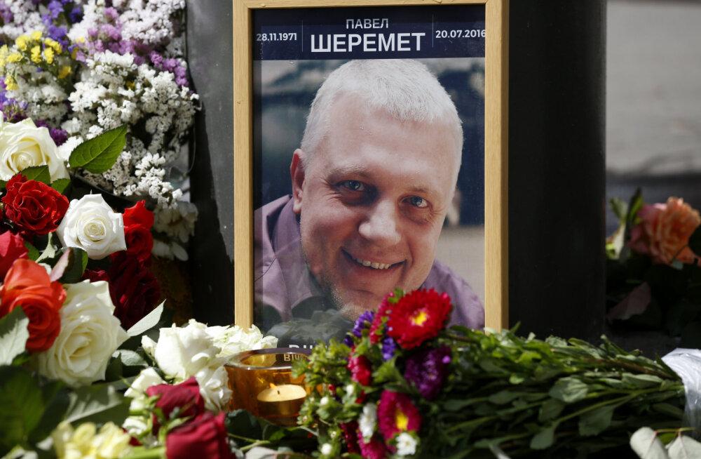 Ukraina reporteri mõrvaga seostatavat politseinikku küsitletakse siis, kui ta puhkus lõppeb