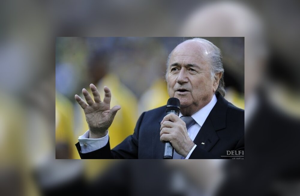 Sepp Blatter, FIFA president, jalgpall
