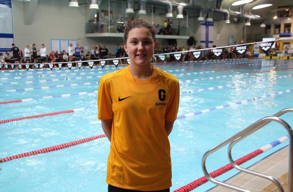 Zaitsev ja Kendzior parandasid ujumise Eesti rekordeid