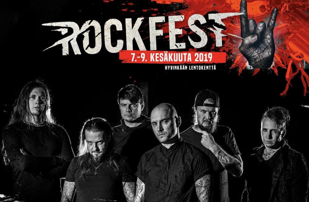 VÕIMAS! Eesti bänd Goresoerd esineb Soomes The Rock Festil koos maailmakuulsate artistidega