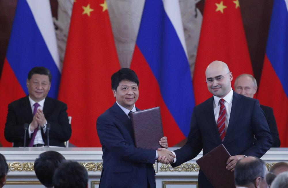 Huawei sõlmis kokkuleppe 5G tehnoloogia arendamiseks Venemaal
