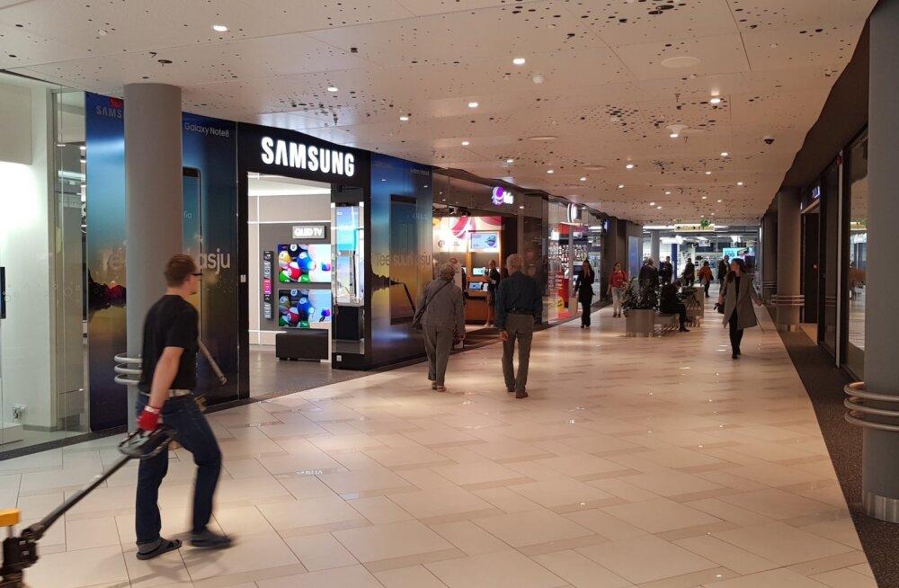Samsung avab Ülemiste keskuses oma esinduspoe