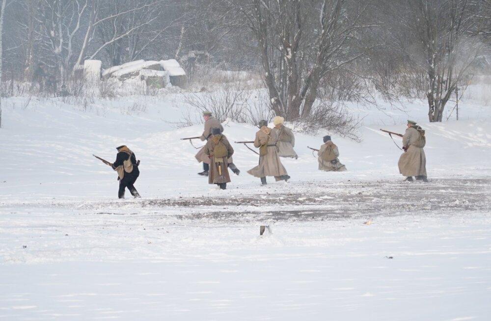Tapal mängiti läbi Vabadussõja lahingut
