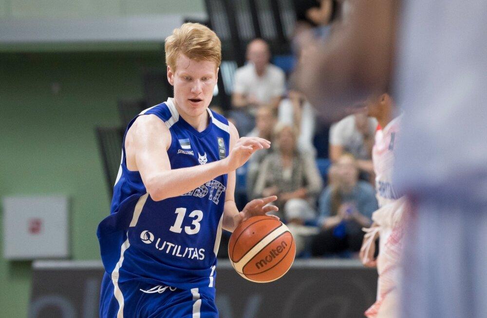 U18 korvpall Eesti vs Suurbritannia