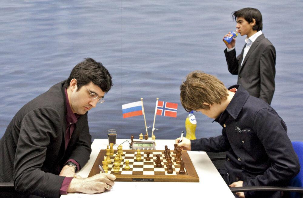 Vladimir Kramnik ja Magnus Carlsen