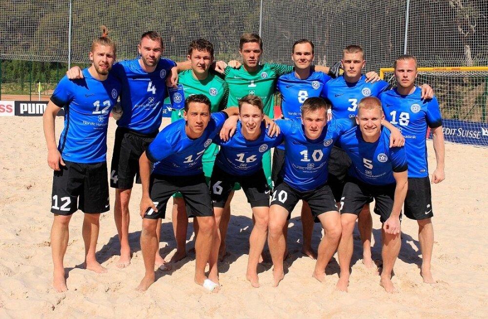 Eesti rannajalgpallikoondis
