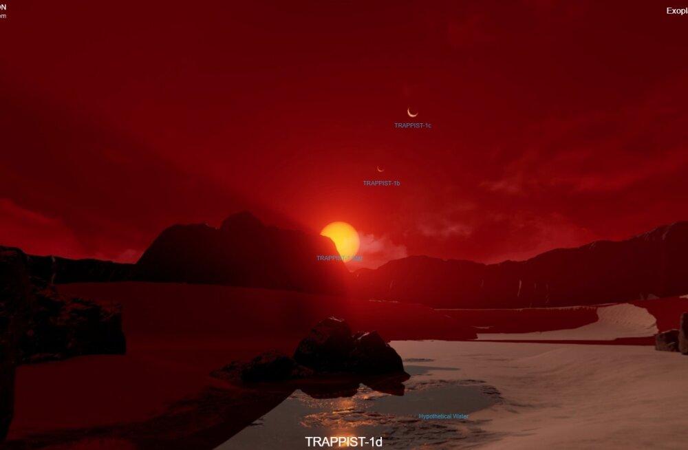 """NASA avas """"reisibüroo"""", mis viib su valgusaastate taha kaugplaneetide pinnale"""