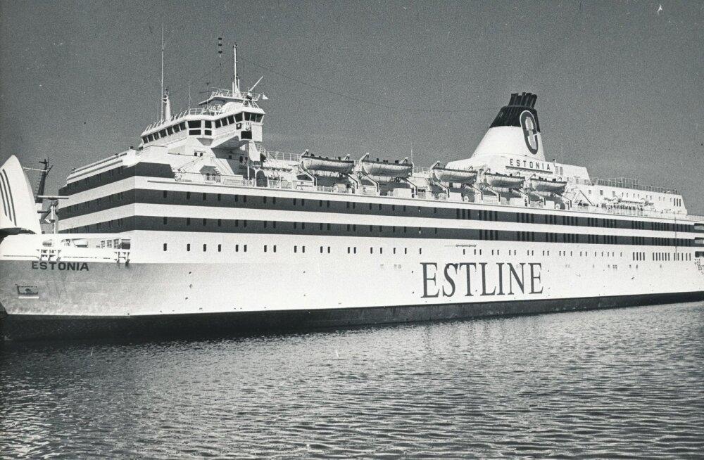 Estline Estonia parvlaev