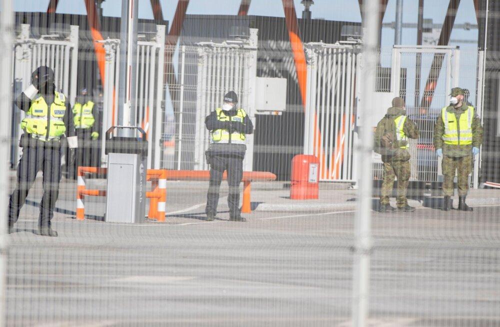 Soome piirivalve: Eesti saatis eelmisel nädalal piirilt tagasi 54 Helsingist saabunut, Soome 5 Tallinnast saabunut