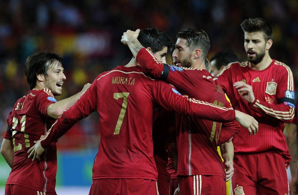 17 päeva jalgpalli EM-ini: Kas Hispaania suudab tiitlite <em>hattricki</em> teha?