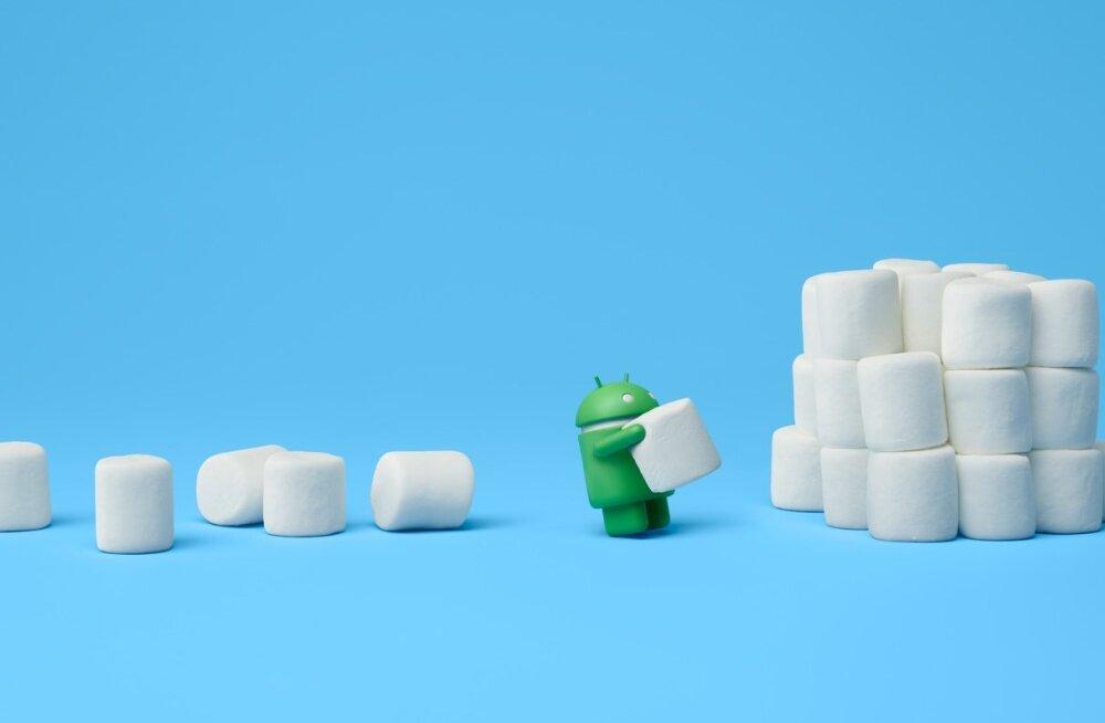 Uurime: millised Androidi-opsüsteemiga seadmed saavad suure täienduse 6.0 Marshmallow
