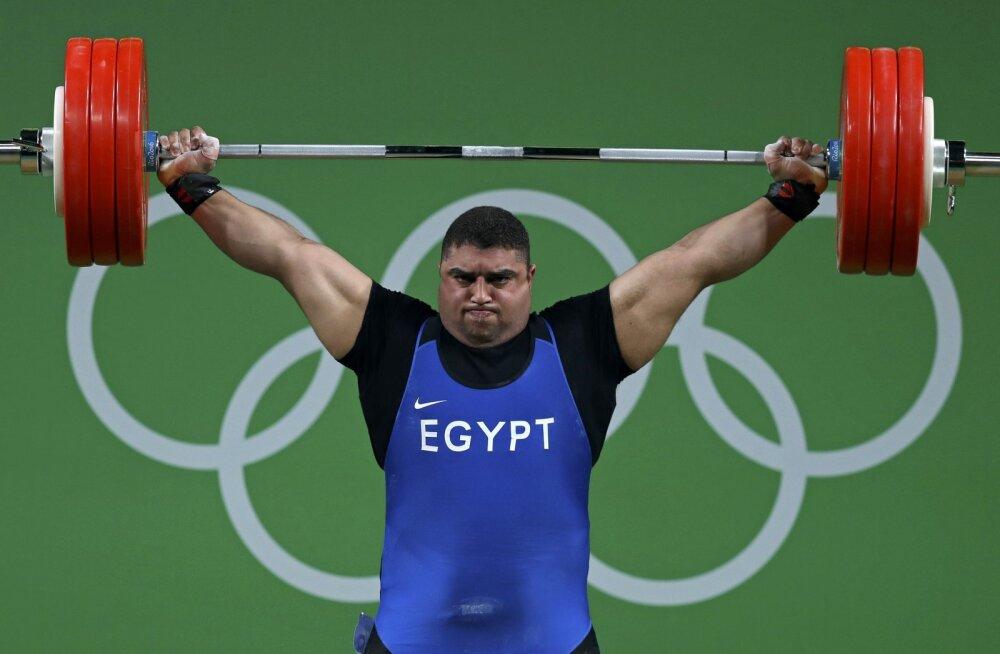 Spordiarbitraaž jättis kõik Egiptuse tõstjad Tokyo olümpialt kõrvale
