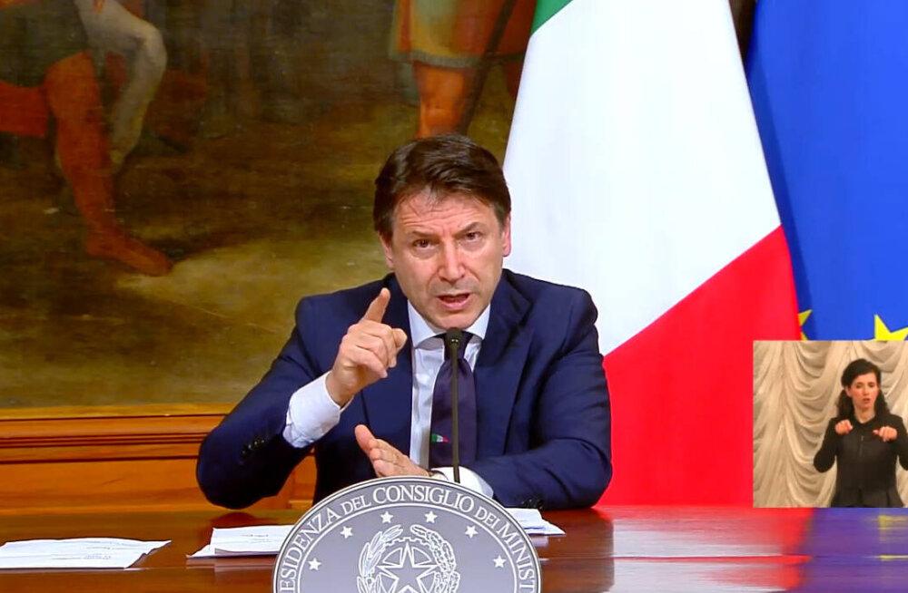 Itaalia peaminister Conte: EL riskib koroonakriisis läbikukkumisega. Putin ei kasutaks abi kunagi mõjutamiseks