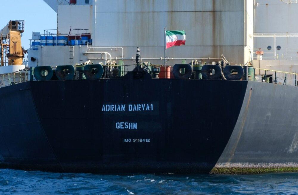 Gibraltaril arestitud olnud Iraani tanker pääses liikuma