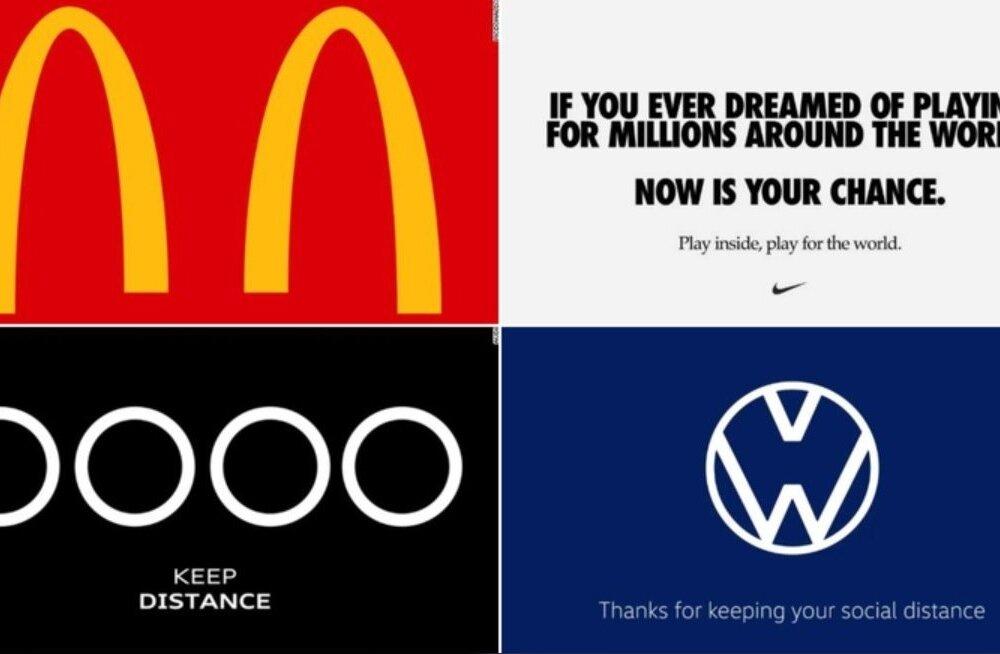 Suurfirmad muutsid logosid