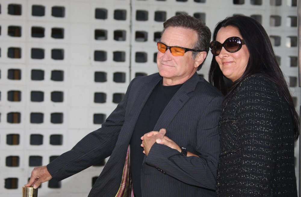 Robin Williams ja Marsha Garces Williams