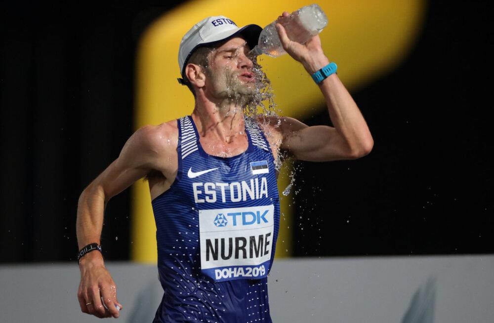 DELFI DOHAS | Tiidrek Nurme esimene küsimus pärast maratoni lõpetamist: kuidas Tänak publikukatsel sõitis?