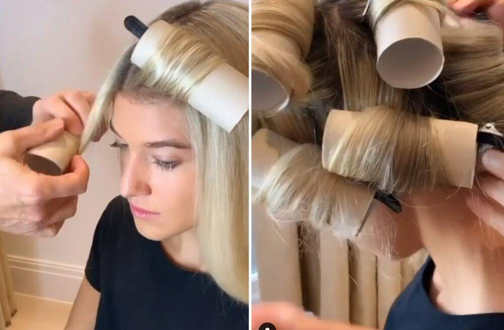 VIDEO | Imeilusad lokid, mille tegemiseks vajad ainult tühje wc-paberi rulle ja juukselõkse