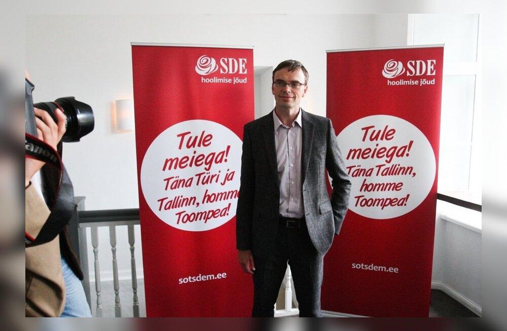 Sotsiaaldemokraadid avalikustasid valimisloosungi
