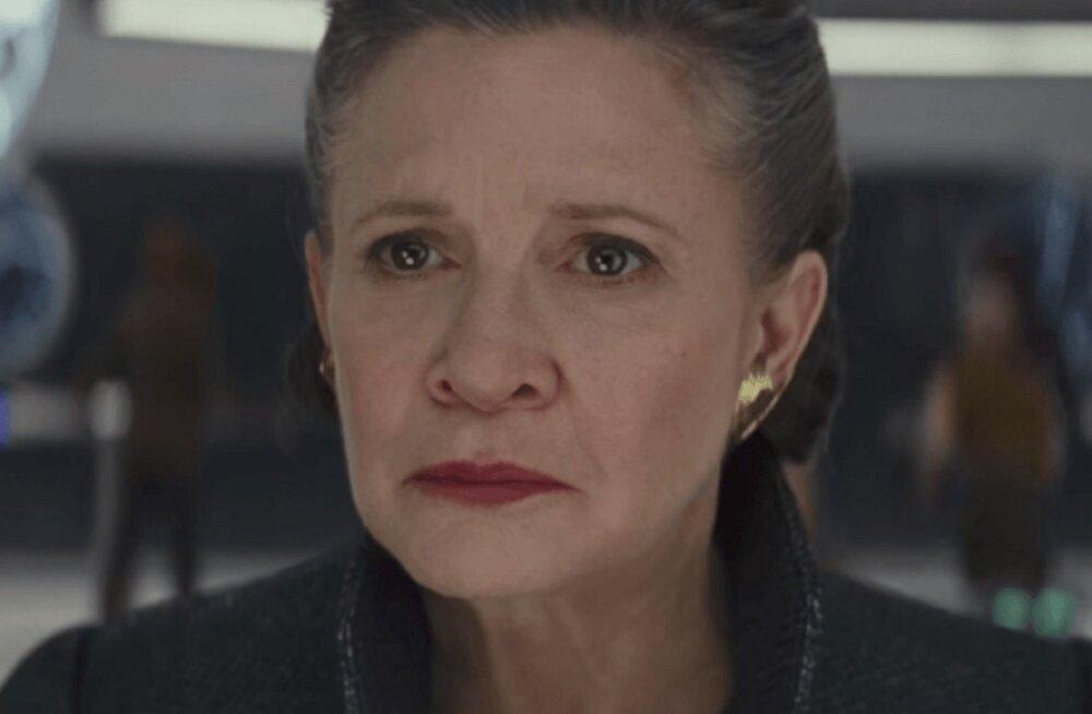 """Printsess Leia ehk Carrie Fisheri viis filmirolli, mis polnud """"Star Wars"""""""