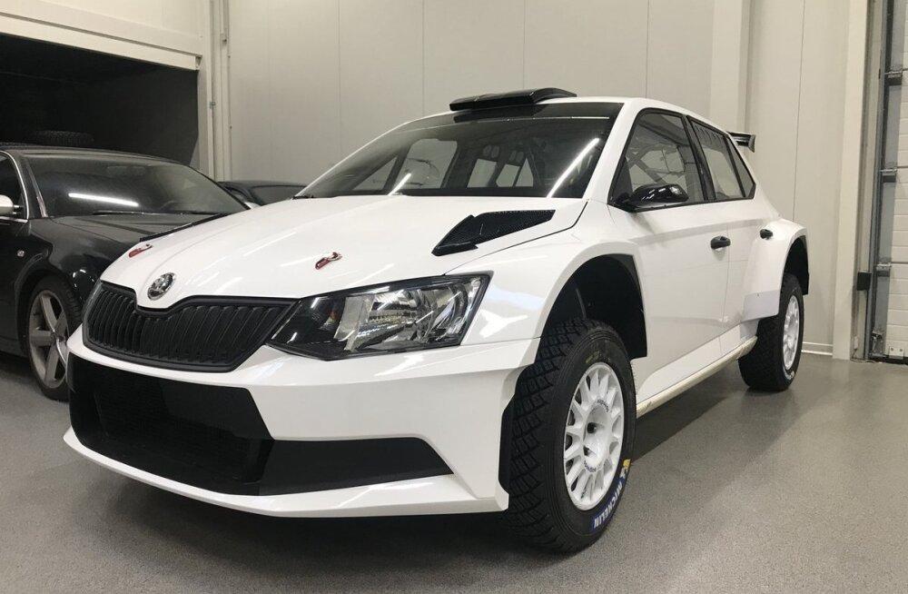 Soovid osta? Markko Märtini meeskond müüb Škoda R5 ralliautot