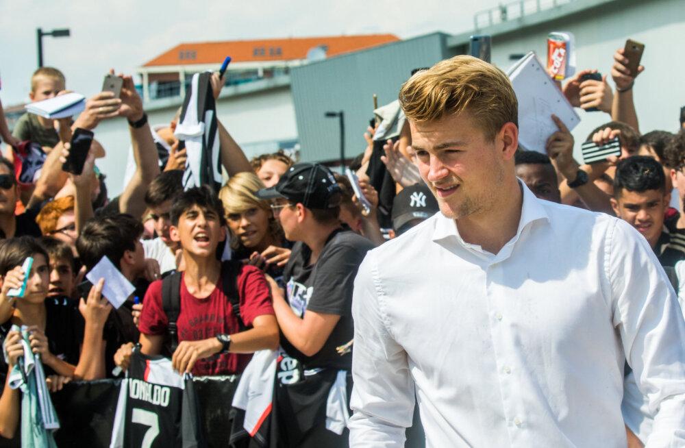 Mitme suurklubi huviorbiidis olnud Hollandi täht avaldas, miks just Juventusega liitus